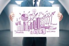 Business presentation concept Stock Images