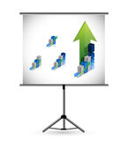 Business presentation illustration design Stock Photo