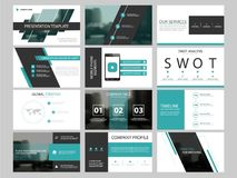 Business presentation infographic elements template set, annual report. Business presentation infographic elements template set, annual report corporate Royalty Free Stock Photo