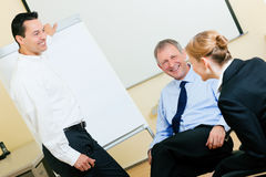 Business presentation in meeting Stock Photography
