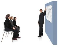 Business presentation in an office 2 Stock Images