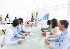 Business Presentation in the Office Stock Photography