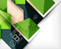 Business presentation stripes abstract background Stock Photo