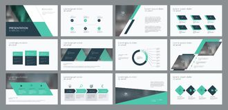 Free Business Presentation Template Design And Page Layout Design For Brochure ,annual Report And Company Profile Royalty Free Stock Images - 122480549