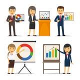 Business presentation vector Stock Image