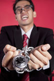 Business prisoner Stock Images
