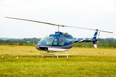 Free Business Private Helicopter Royalty Free Stock Photos - 34073068