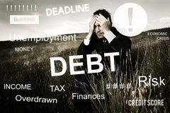 Business Problem Concern Worried Graphic Concept stock photo