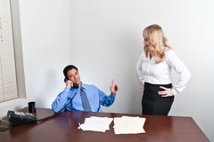 Business Problem Discussion Royalty Free Stock Photography