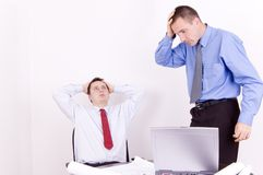 Business problems royalty free stock photo