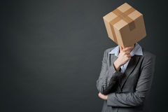 Business Problems - Thinking Within a Box Stock Photos