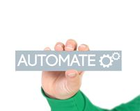 Business process automation stock photos