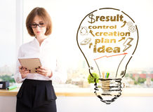 Business process concept Royalty Free Stock Photography
