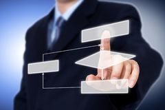 Business process concept. stock photo