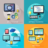 Business process concept Stock Image