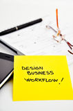 Business process design Royalty Free Stock Images