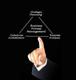 Business Process Management Royalty Free Stock Images