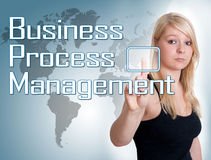 Business Process Management Stock Image