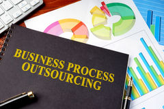 Business Process Outsourcing BPO. Royalty Free Stock Photography