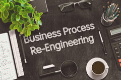 Business Process Re-Engineering Concept. 3D render. Royalty Free Stock Image