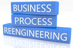 Business Process Reengineering Stock Image