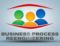 Business Process Reengineering Royalty Free Stock Photography