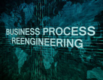 Business Process Reengineering Stock Photo
