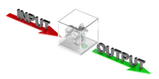 Business Processes concept with gearwheels Stock Photos