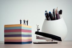 Business processes and office situation concept royalty free stock photography