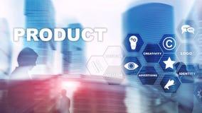 Business Product Promotion Design Concept. Double exposure background. Business Product Promotion Design Concept. Double exposure background vector illustration