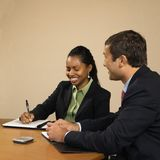 Business professionals. royalty free stock photography