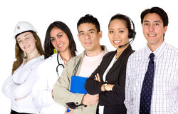 Business professionals - diverse occupations Royalty Free Stock Photos