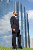Business profile Royalty Free Stock Photos