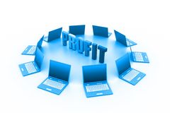 Business profit concept Stock Photo