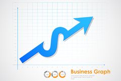 Business Profit Graph Stock Photography