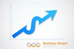 Business Profit Graph Stock Photography