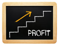 Business profit Stock Photo