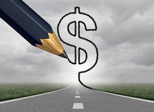 Business Profit Path Stock Photo