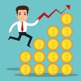 Business profits growth Royalty Free Stock Photos