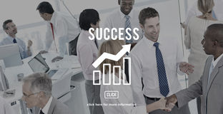 Business Progress Report Graph Concept royalty free stock photo