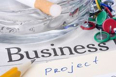 Business Project Stock Image