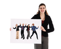Business Promotion Royalty Free Stock Photos