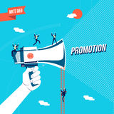 Business promotion online concept illustration Royalty Free Stock Images