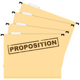 Business Proposal Stock Image
