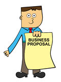 A business proposal for you Royalty Free Stock Photo