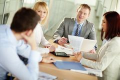 Business propositions Stock Images