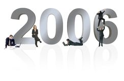 Business prospects for 2006 Royalty Free Stock Photo