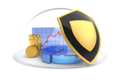 Business protection Royalty Free Stock Images