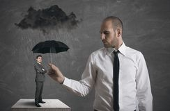 Business protection Stock Image
