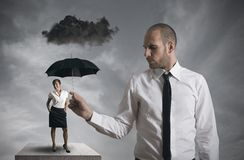 Business protection Royalty Free Stock Image